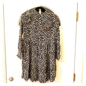 Zara leopard tunic size S, new with tags